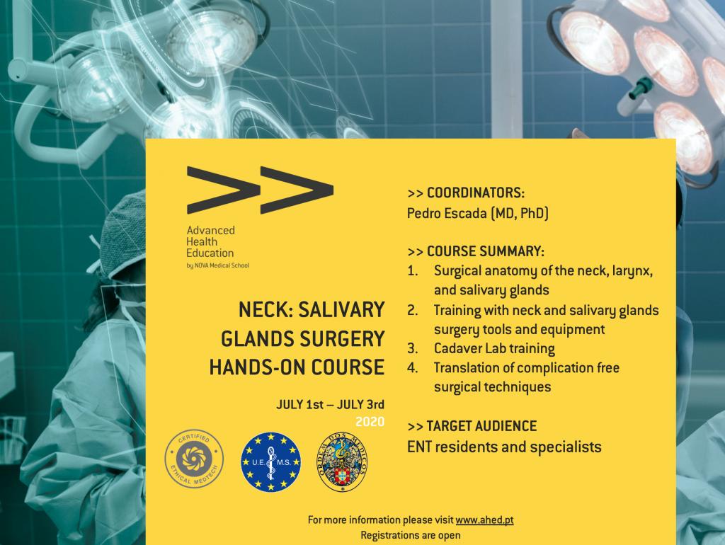 Neck: Salivary Glands Surgery Hands-On